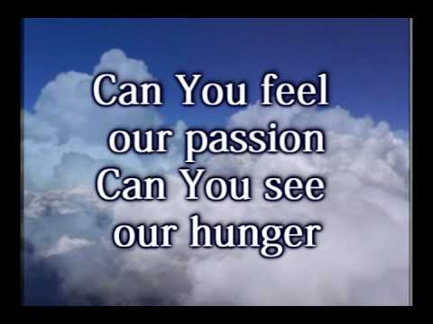 Open Up The Sky - Lindell Cooley - Worship Video w-lyrics