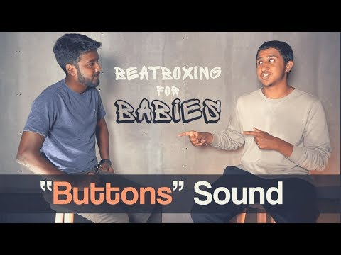Beatbox Tutorial | How to Beatbox | Button Sound | Vineeth Vincent x Anirudh | Beatboxing for Babies