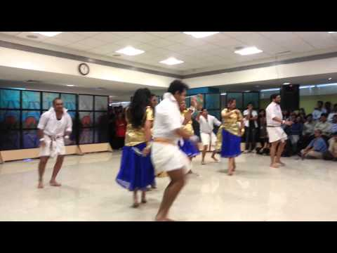 Amazing Group Dance performance in L&T Infotech, Pune