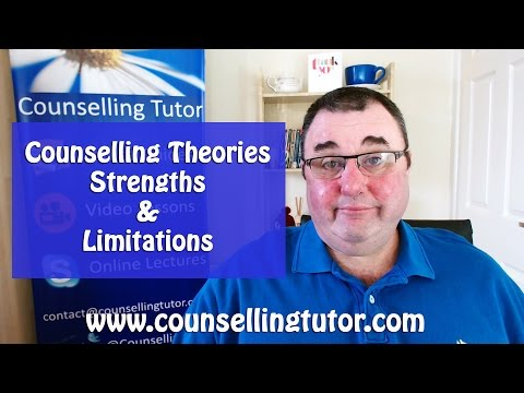 Counselling Theories Strengths & Limitations