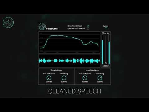 VoiceGate - Neural Network powered Audio Denoising