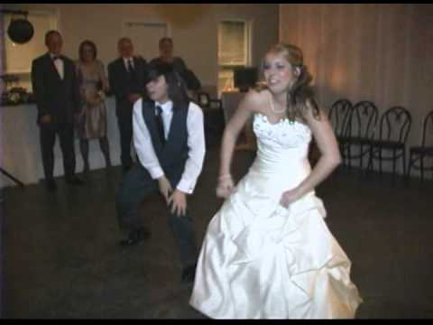 Bride and Brother Surprise Dance