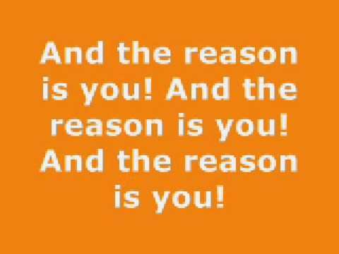 The Reason Lyrics