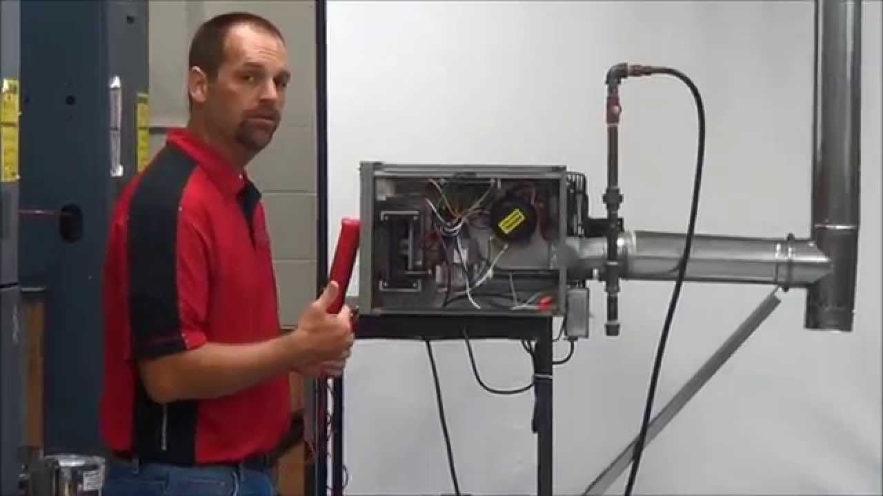 Performing A Start Up On A Modine Hot Dawg Unit Heater