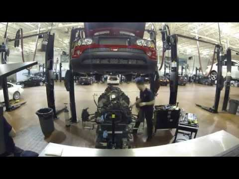 BMW Valve Seal Replacement Time Lapse