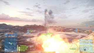 Mobile Artillery - Battlefield 3: Armored Kill DLC Gameplay (PS3)