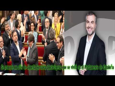 ALSINA: Se Cumple Un Año De Aquella Jornada Alucinógena Que Se Vivió En El Parlamento De Cataluña