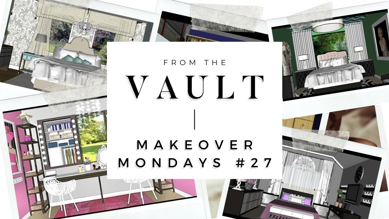 Tour 27 Makeover Mondays How To Decorate A BIG Bedroom YouTube