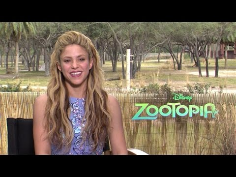 Shakira On 'Zootopia' Role