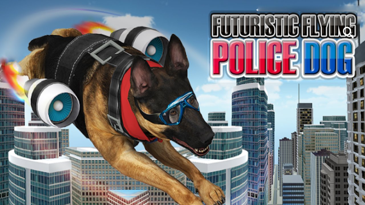 Futuristic Flying Police Dog (by Titan Game Productions) Android Gameplay [HD]