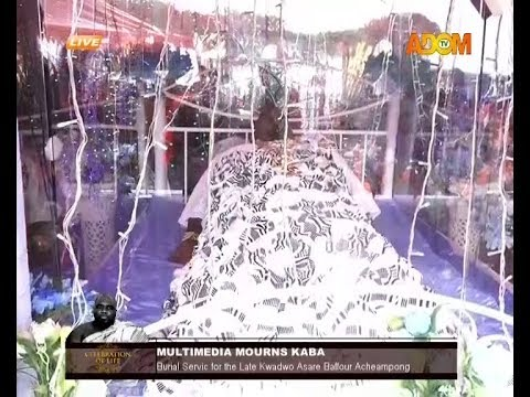 KABA FINALLY LAY IN STATE TO REST - IN ACCRA