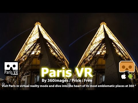 Paris VR - The most beautiful HD 360 degrees view of Paris for Google Cardboard.