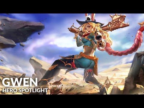 កប់ណាស់ទស្សនាវីដេអូ Spotlight បង្ហាញពីវិរៈនារី Gwen