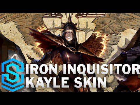 Iron Inquisitor Kayle Skin Spotlight - League of Legends