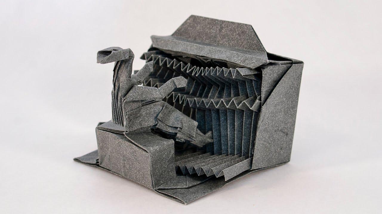 Raven, Opus 422 | Origami diagrams, Origami paper art, Origami | 720x1280