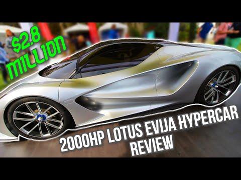 My Friend bought the 2000hp LOTUS EVIJA HYPERCAR!!! *$2.8 million dollar car*