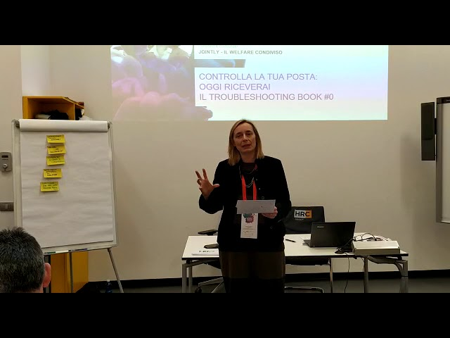 REPORT BACK WELFARE & WELLBEINGAnna Zattoni President & Co-founder JOINTLY - IL WELFARE CONDIVISO