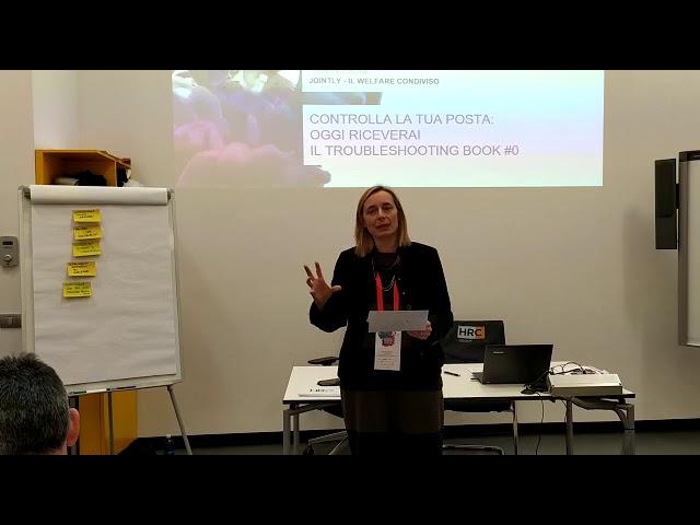 REPORT BACK WELFARE & WELLBEINGAnna Zattoni President & Co-founderJOINTLY - IL WELFARE CONDIVISO