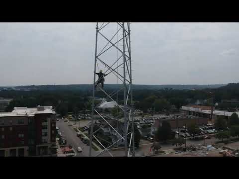 New Townsquare Media tower in downtown Rochester