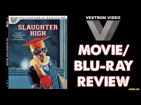 SLAUGHTER HIGH (1986) - Movie/Blu-ray Review (Vestron Collector's Series) streaming vf