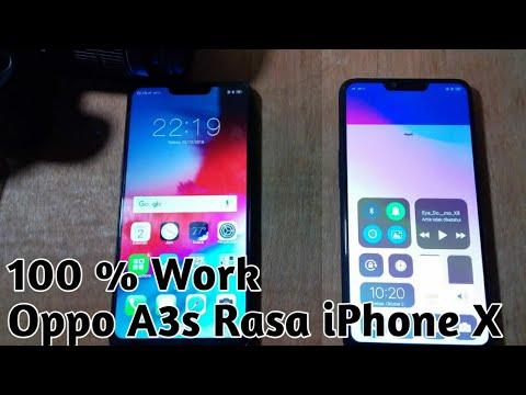 Permanen 100%     !! Oppo A3s Rasa iPhone X