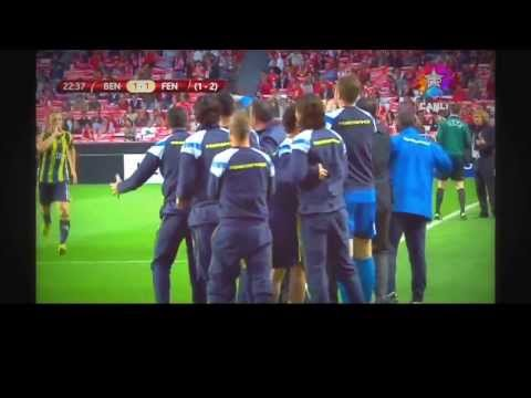 Fenerbahce  Benfica 1-3  Maç Golleri -HD