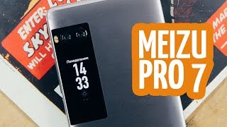 видео Обзор смартфонов Meizu Pro 7 и Meizu Pro 7 Plus