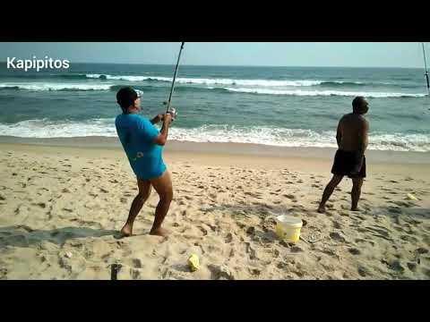 Pesca Corvina 400kg em angola