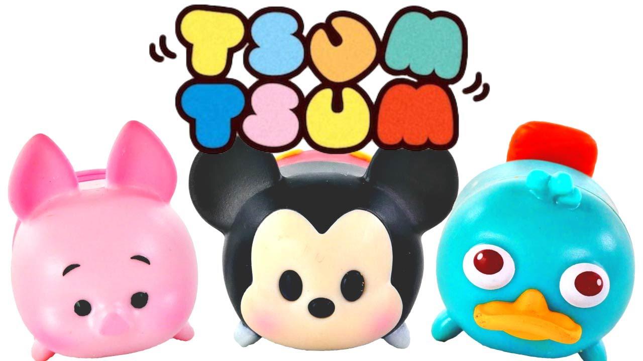 Coloreando El Tsum Tsum De Minnie Aprende A Colorear: Tsum Tsum Paquetes Para Apilar Misteriosos Mickey Mouse