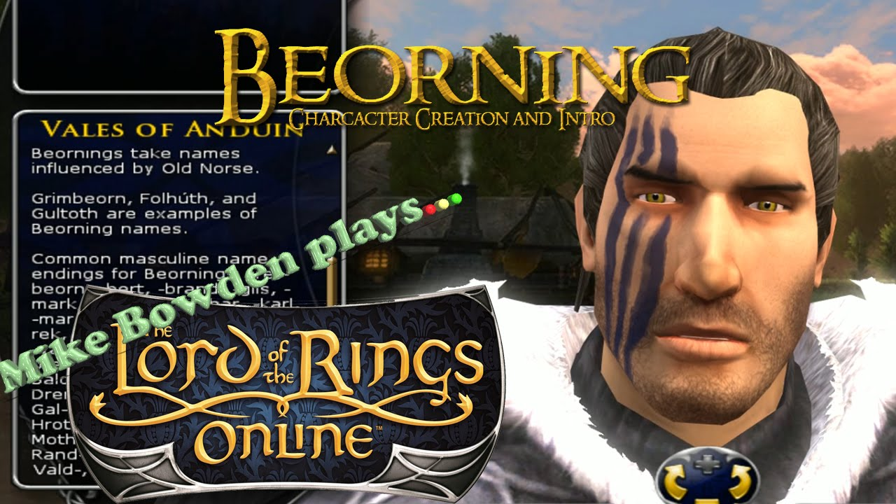 LotRO - Beorning character creation and intro - Update 15 preview HD