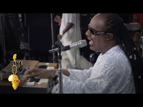 Stevie Wonder - Superstition (Live 8 2005)