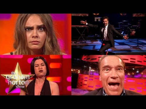 Secret Movie Star Skills Supercut | The Graham Norton Show