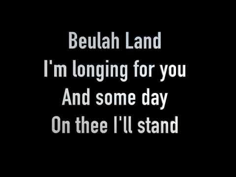 Beulah Land lyric video-track