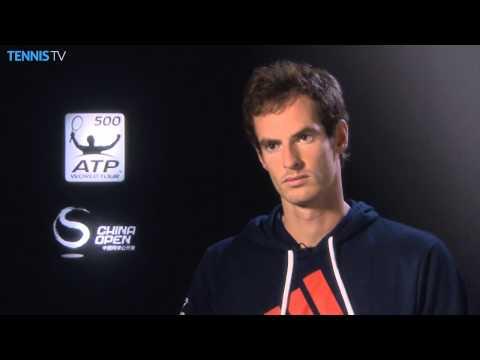 Beijing 2014 Thursday Interview Murray