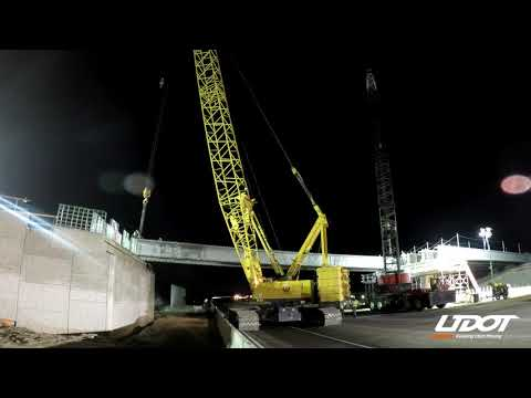 Time Lapse: Lehi 600 East Bridge Beams