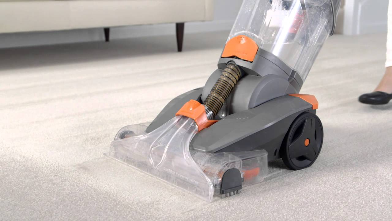 hoover dual power carpet washer manual