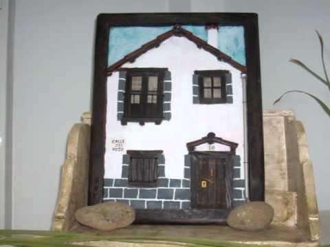 arroyomolinos de la vera fachadas antiguas en miniatura