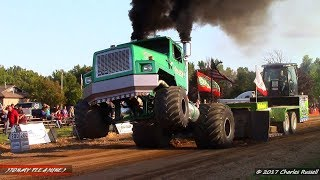 Semi Truck Pulls! 2017 Kent City Pull ft. Green Ghost