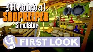 💰 Medieval Shopkeeper Simulator First Look | Let
