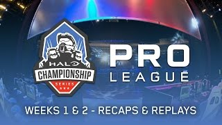 Recaps & Replays - Weeks 1 & 2 - HCS Pro League Fall 2016 Season