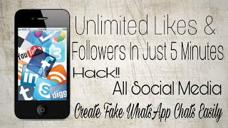 How to make fake tweets false chat unlimited likes and more