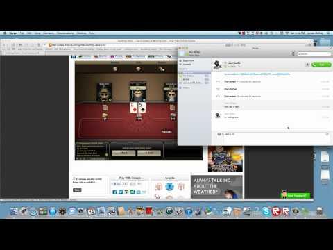 Online poker (bullfrog poker) with jason
