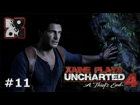 """Xaine Plays : Uncharted 4 A Thief's End [Ep11] """"Cliffhanger  - And His Brother Coat."""""""