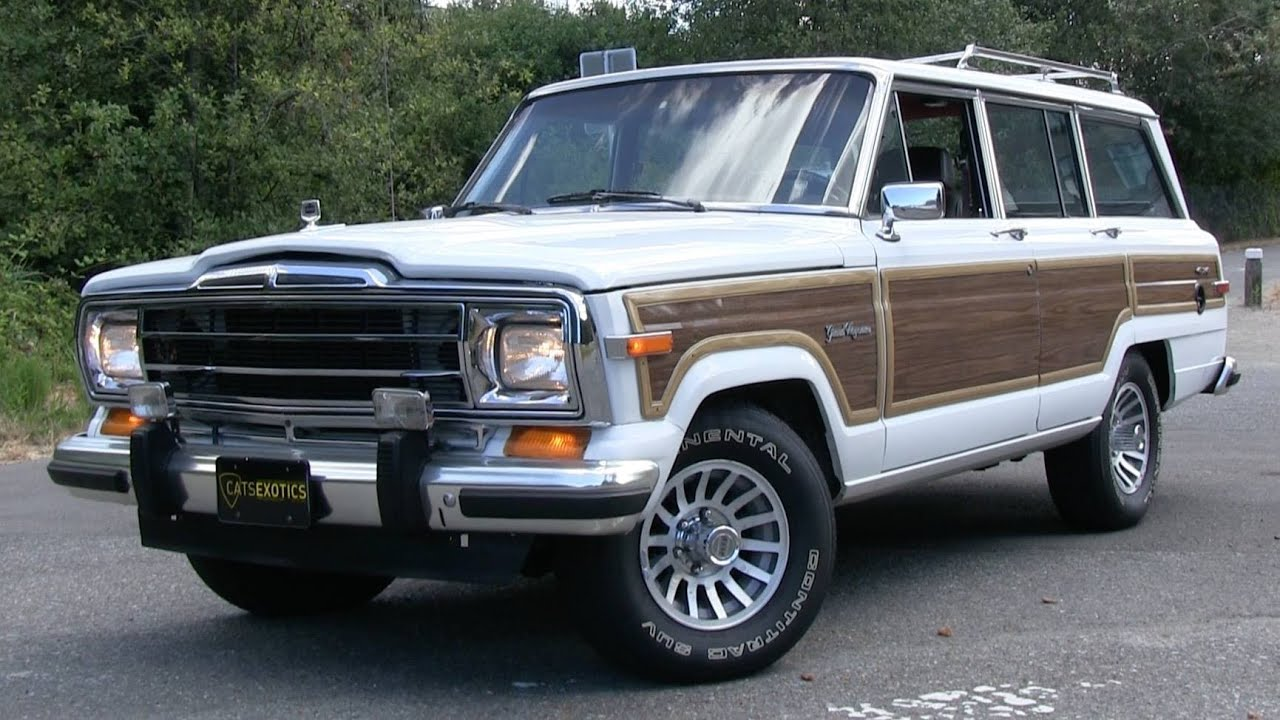 Jeep Grand Wagoneer >> 1989 Jeep Grand Wagoneer Start Up Test Drive And In Depth Review