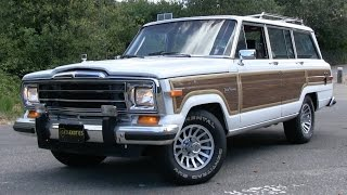 1989 Jeep Grand Wagoneer Start Up, Test Drive, and In Depth Review