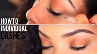 Individual Lashes Tutorial