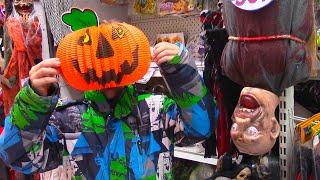 Хеллоуин Магазин Шопинг На Хеллоуин С Игорьком / Shopping For Halloween Costumes