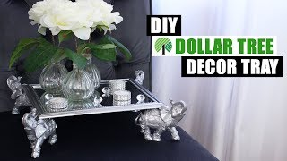 DIY DOLLAR TREE DECOR TRAY | DIY Glam Home Decor