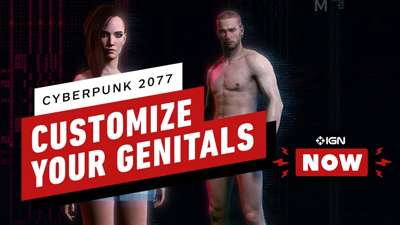 Cyberpunk 2077 will include customizable genitalia, possible ...