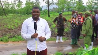 Mkuu wa Majeshi ya Ulinzi na Usalama CDF Venance Mabeyo atua Kilosa kuangalia athari za Mafuriko